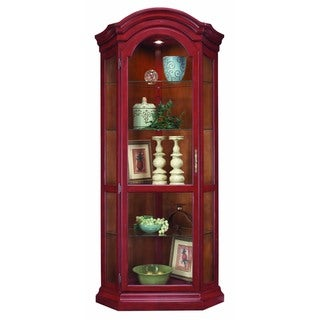 Philip Reinisch Co. Color Time Chili Pepper Red Panorama Corner Display Cabinet