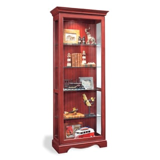 Philip Reinisch Co. Color Time Ambience Display Cabinet, Chili Pepper Red