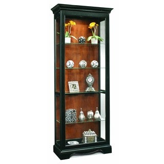 Philip Reinisch Co. Color Time Ambience Display Cabinet, Pirate Black
