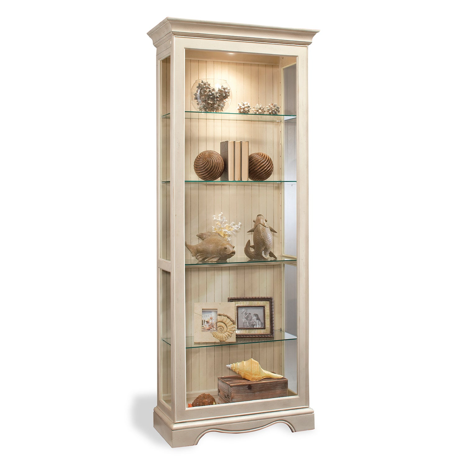 Philip Reinisch Co. Color Time Ambience Display Cabinet, ...