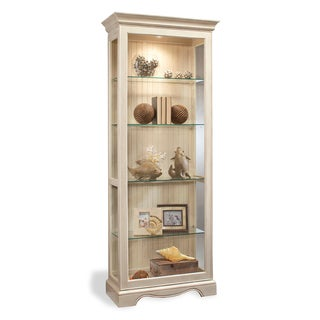 Philip Reinisch Co. Color Time Ambience Display Cabinet, Sandshell White