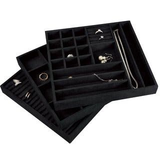 Stackable Velvet Jewelry Trays (Set of 3)|https://ak1.ostkcdn.com/images/products/10909924/P17941738.jpg?impolicy=medium