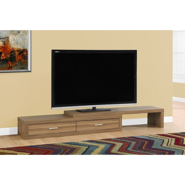 Tv Stand 60 98 Inches Expandable Walnut Free Shipping