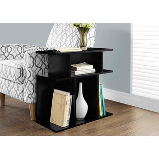 24 inch Black Accent Table