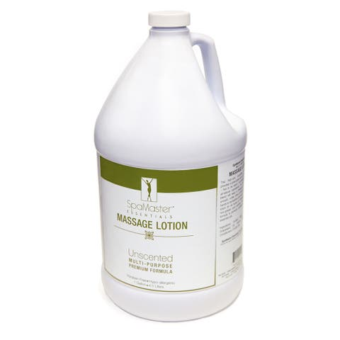 Master Massage 1-Gallon Unscented Vitamin-Rich and Water-Soluble Massage Lotion