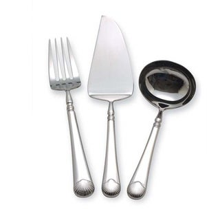 Reed & Barton Gloucester Shell 3-piece Serving Set