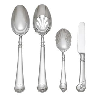 Reed & Barton Gloucester Shell 4-piece Hostess Set