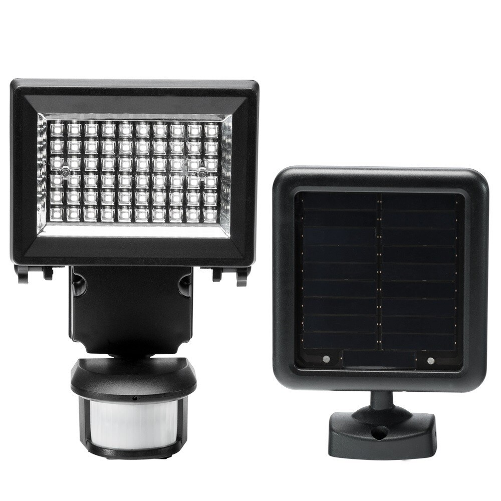 LTD Duracell Solar LED Motion Security Light (Black Finis...