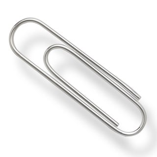 Sterling Silver Large Paper-clip style Money Clip
