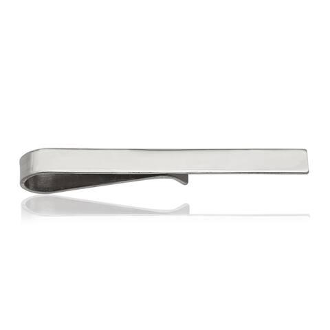 Sterling Silver High Polish Tie Bar
