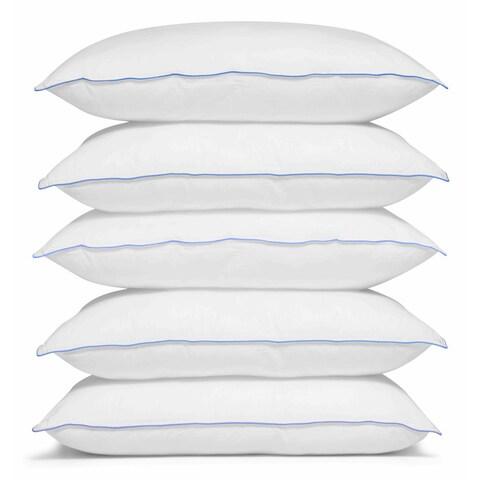 Merit Linens Premium Down Alternative Pillow - White
