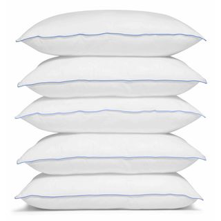 Merit Linens Premium Down Alternative Pillow - White