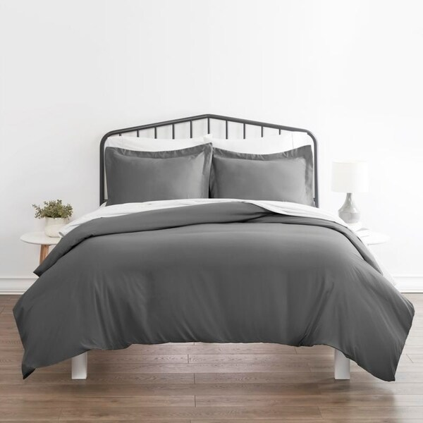 Soft Essentials Ultra Soft 3-piece Duvet Cover Set. Opens flyout.