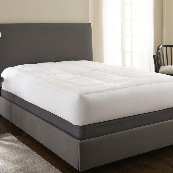 Soft Essentials Premium Ultra Plush Mattress Pad - White