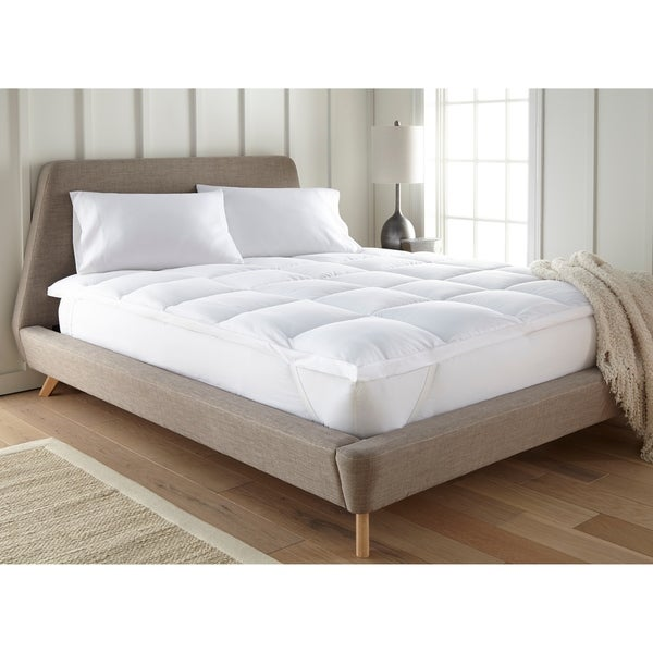Soft Essentials Premium Ultra Plush Mattress Topper - White
