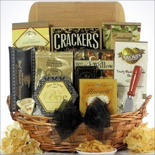 Modern Tastings Cheese and Snack Gift Basket