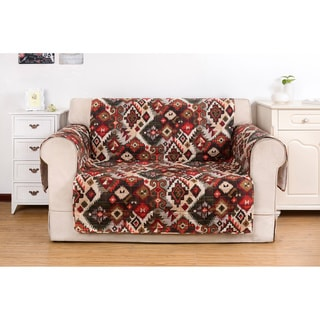 Greenland Home Fashions Folk Festival Rustic Love Seat Protector
