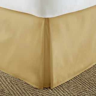 Porch & Den Virginia Highland Cooledge Pleated 14-inch Drop Bedskirt (More options available)