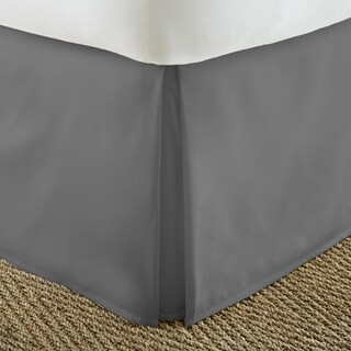 Porch & Den Virginia Highland Cooledge Pleated 14-inch Drop Bedskirt (5 options available)