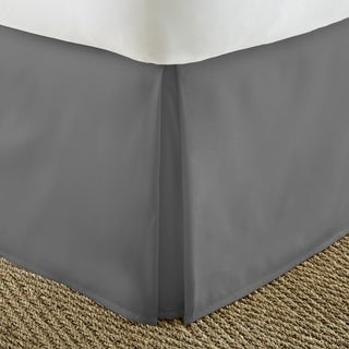 Merit Linens Premium Pleated 14-inch Drop Bedskirt