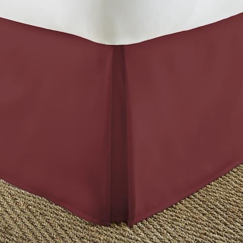 Porch & Den Cooledge Pleated 14-inch Drop Bedskirt