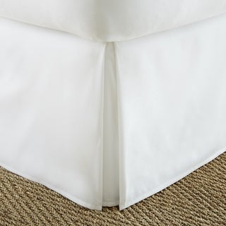 Porch & Den Cooledge Pleated 14-inch Drop Bedskirt