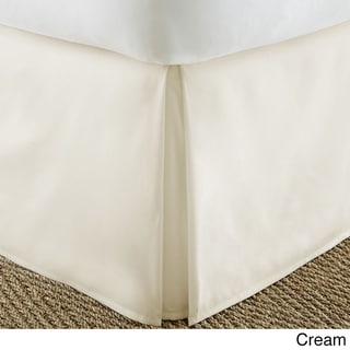 Merit Linens Premium Pleated Bed Skirt Dust Ruffle