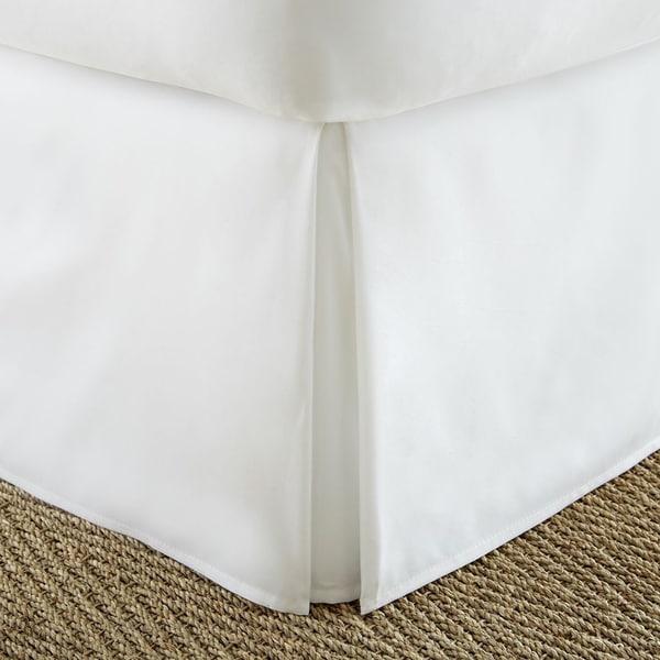 Merit Linens Premium Pleated 14-inch Drop Bedskirt