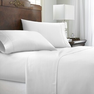 Soft Essentials Premium Embossed Chevron Design 4-piece Bed Sheet Set (More options available)