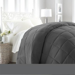 Soft Essentials Premium Ultra Soft Down Alternative Comforter (King - Cal King - Grey)