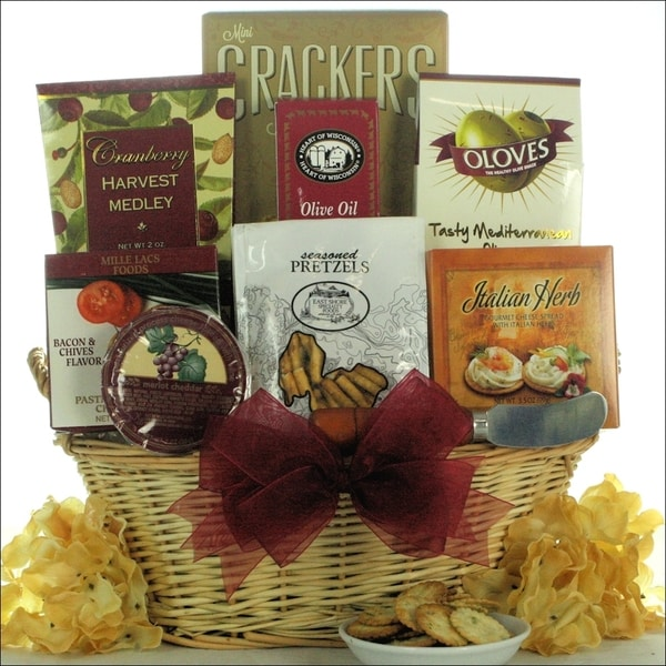 Taste of Tuscany Cheese and Snack Gift Basket