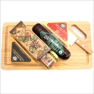 Cheese Board Delights Cheese and Cracker Gift Basket
