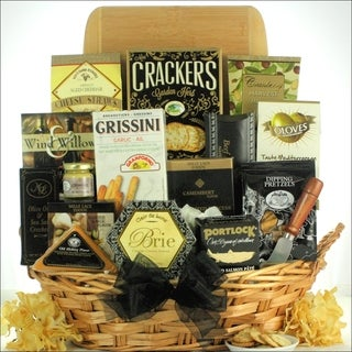 Classic Selections Cheese and Snack Gift Basket