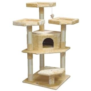 Go Pet Club 50-inch Cat Tree Furniture