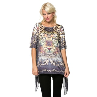 High Secret Women's Animal Print Tunic.