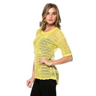High Secret Women's Crochet Top