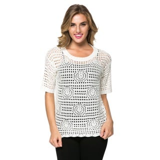High Secret Women's Crochet Top