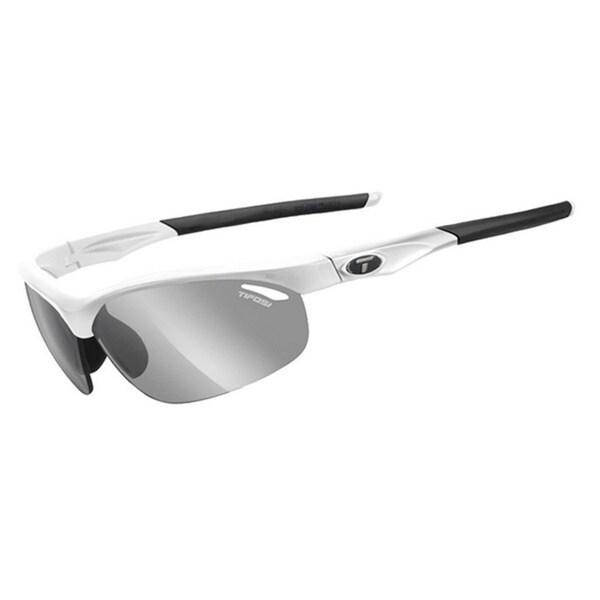 2016 Tifosi Veloce Matte White Fototec Sunglasses