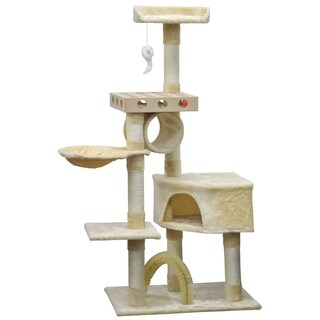 Go Pet Club 60.25-inch Cat Tree