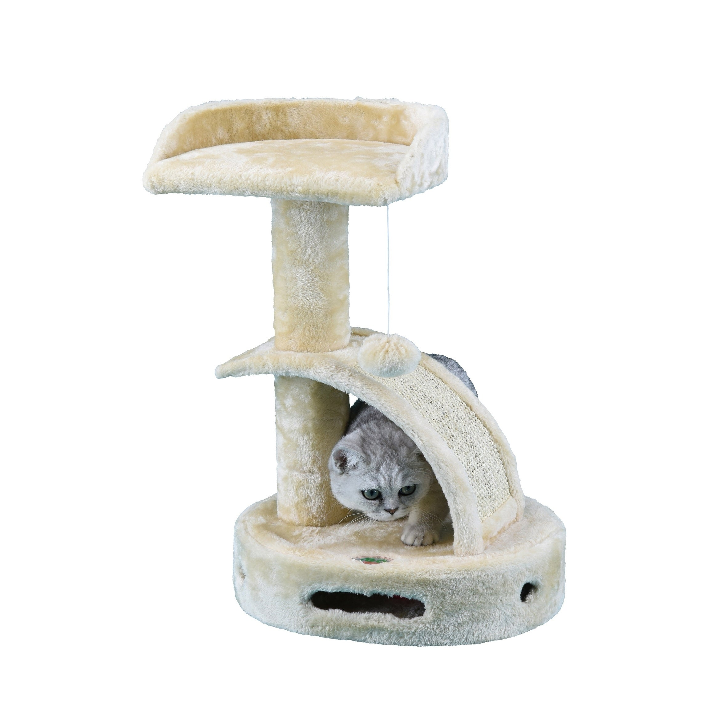 "GoPetClub 23.25-inch High Cat Tree Furniture (18""W x 12""L..."