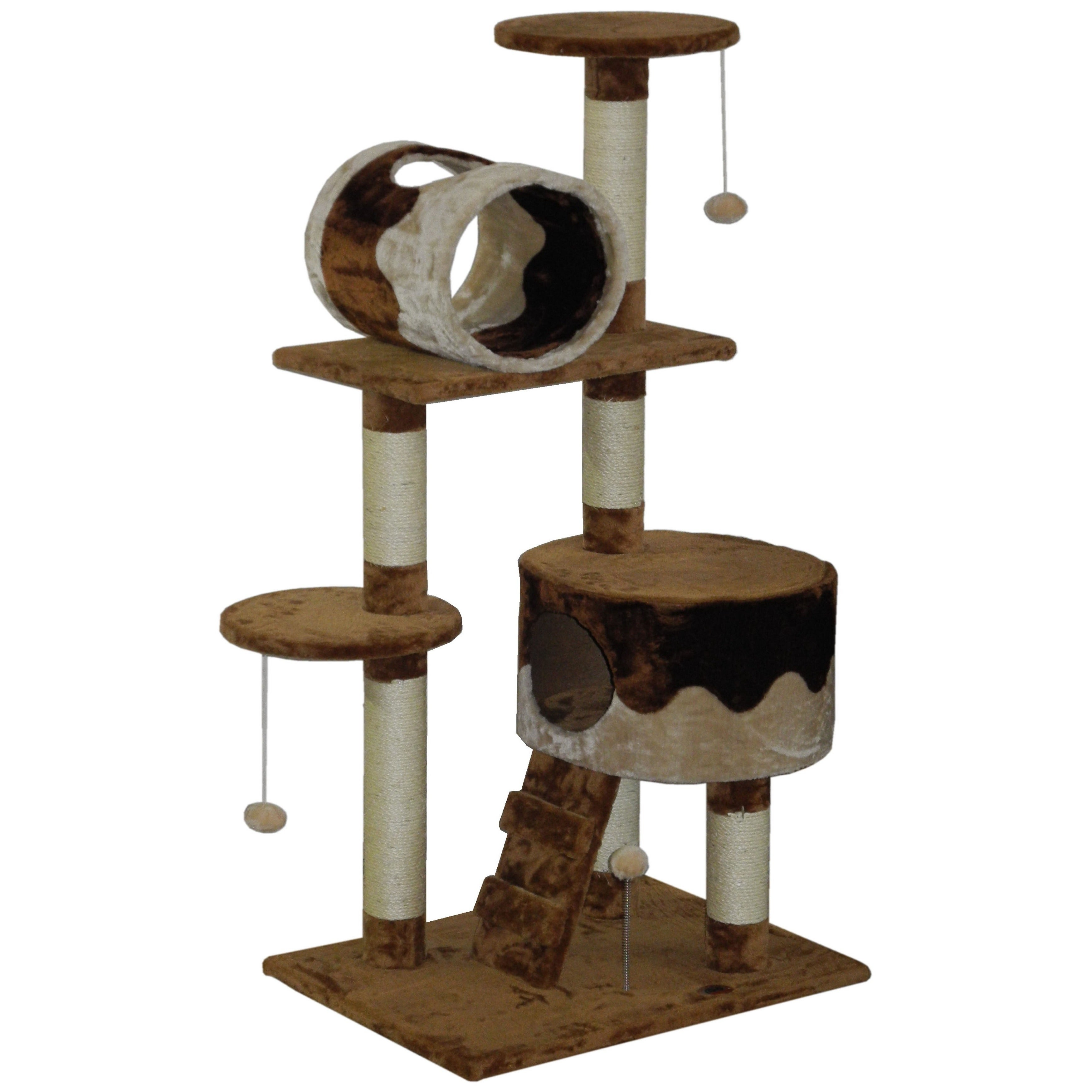 "GoPetClub 51.5-inch High Cat Tree (29""W x 18.5""L x 51.5""H..."