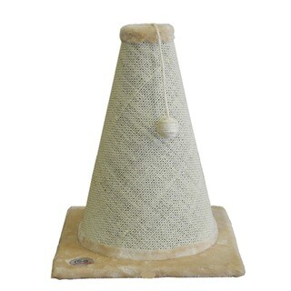 Go Pet Club 20-inch High Cone Cat Tree Scratching Post