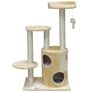 Go Pet Club 48-inch High Cat Tree Furniture