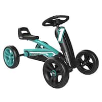 BERG Buzzy Teal Racing Pedal Car