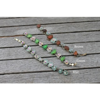 CarolineAlexander Lake Erie Sea Glass Bracelet