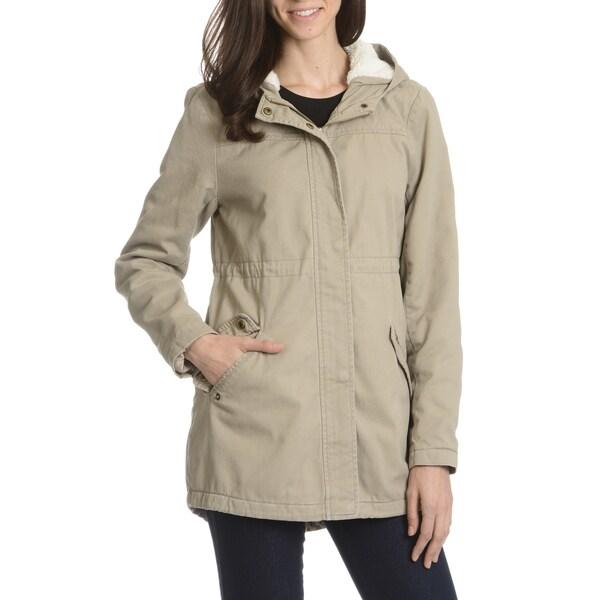 35c16f0f97d09 Shop Ashley Premium Women's Drawstring Bottom Anorak Jacket - Free ...