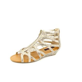 Material Girl Women's 'Olive' Faux Leather Sandals