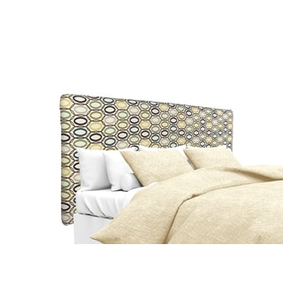 MJL Furniture Alice CollVera Cobalt Upholstered Headboard
