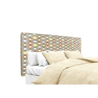 MJL Furniture Alice CollVera Harvest Upholstered Headboard