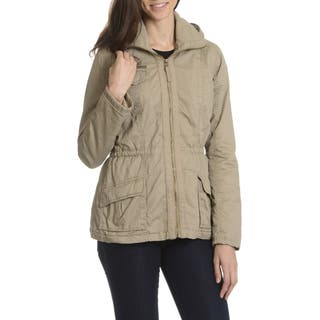 Ashley Women's Faux Fur-Lined Anorak Jacket|https://ak1.ostkcdn.com/images/products/10910590/P17942193.jpg?impolicy=medium